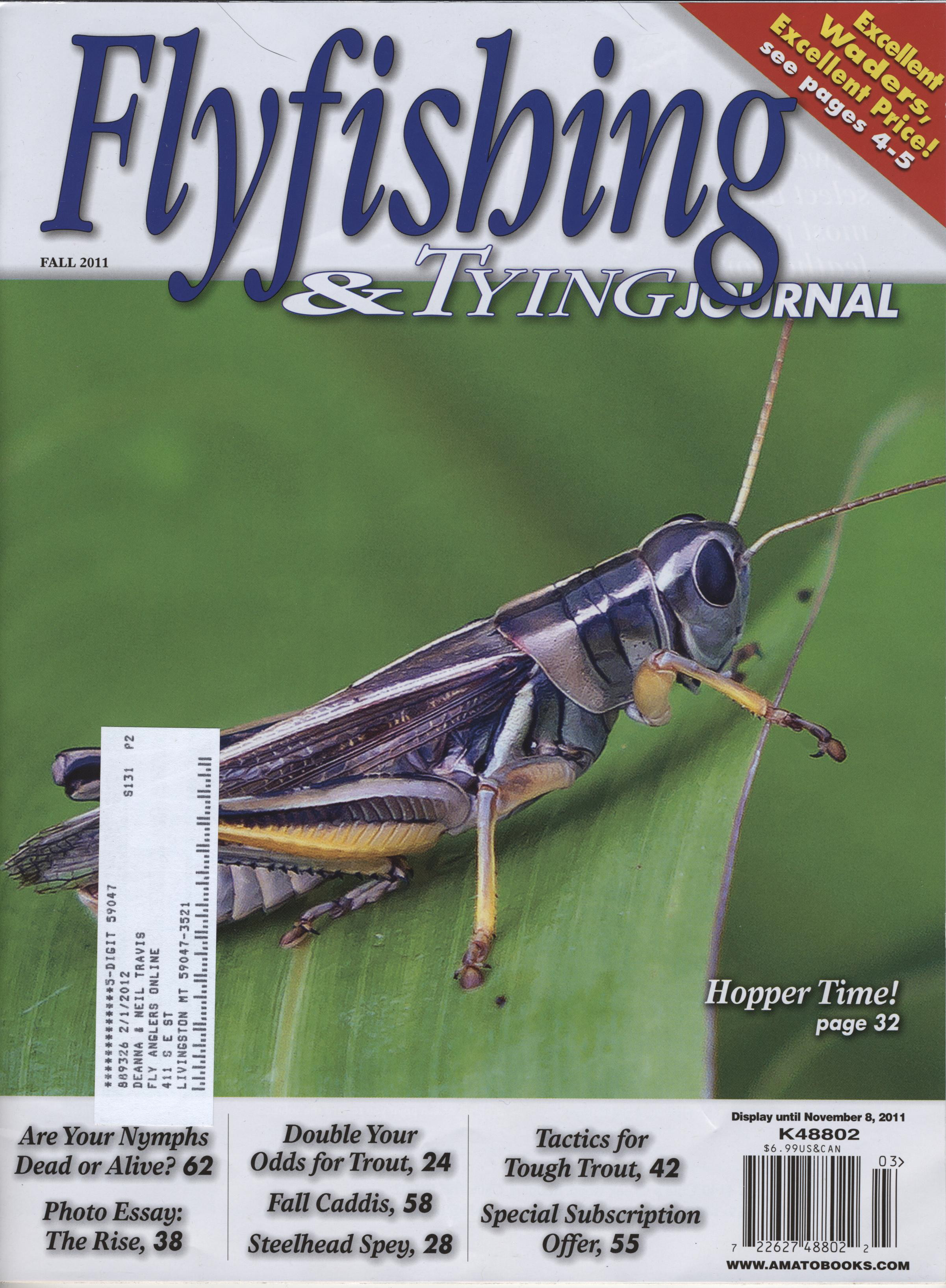 Fly fishing online for Fly fishing journal